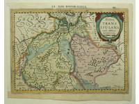 Gouldmaps Overijssel; P. Kaerius - Ditio Transisulana - 1630