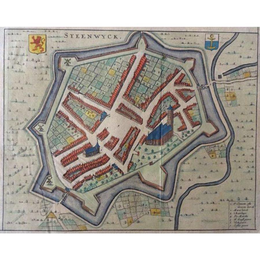 Gouldmaps Steenwijk; G. Leti - Steenwijk. - 1690
