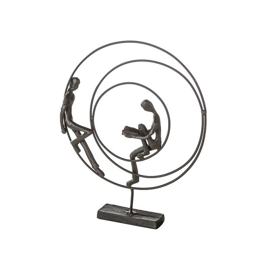 Casablanca Metalen sculptuur Circles