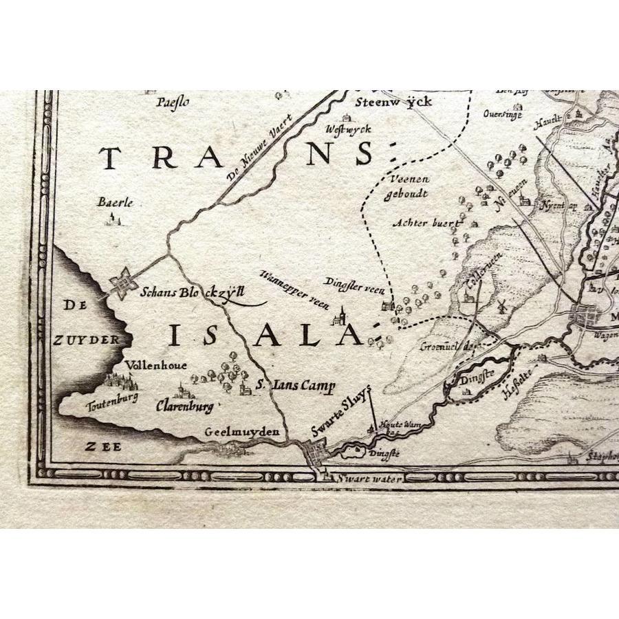 Gouldmaps Drenthe  ; H. Hondius - Comitatus Drentiae (...) - 1639