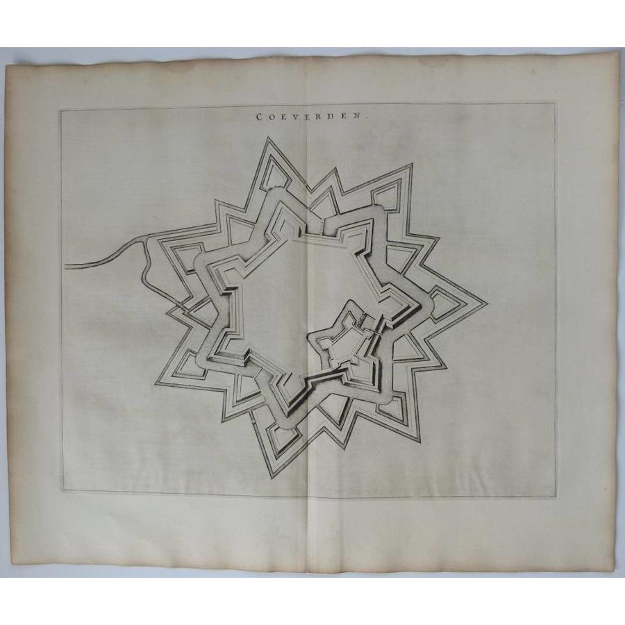 Gouldmaps Coevorden - J. Blaeu - Coeverden. - 1649