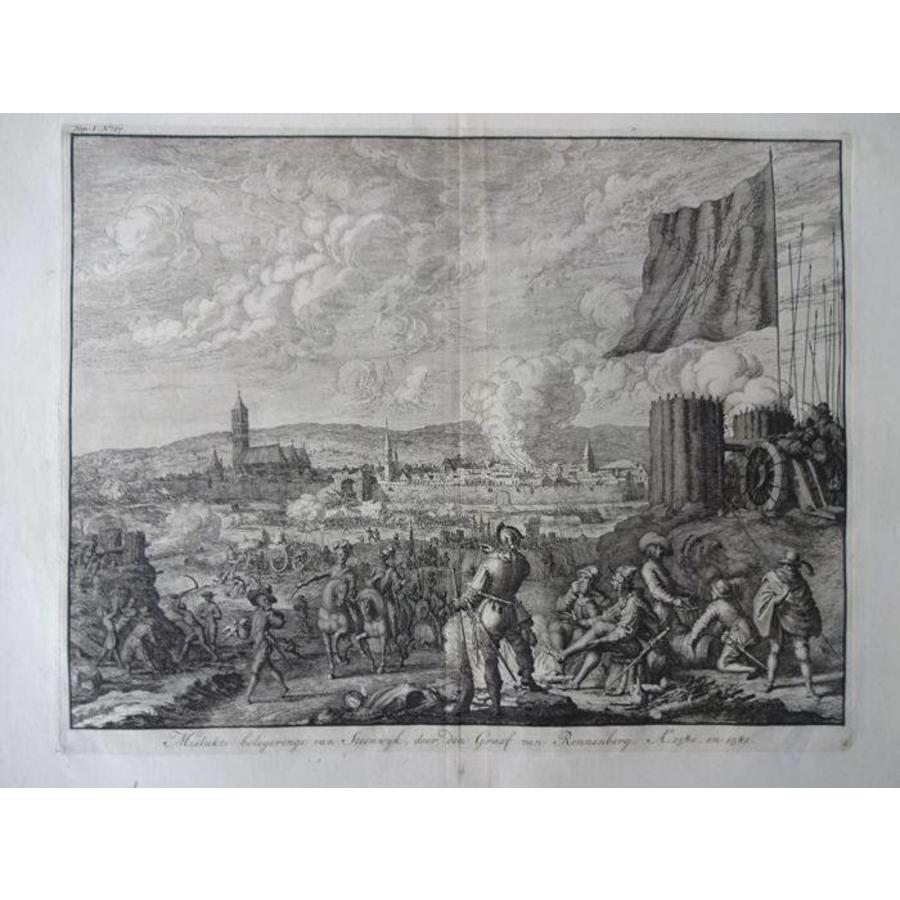 Gouldmaps Steenwijk; J. Luyken – mislukte belegeringe van Steenwijk (..). - 1730