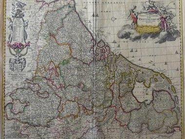 Landkaarten & prenten