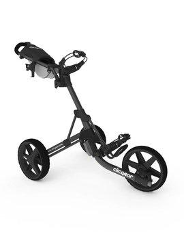 ClicGear 3.5+ 3-wiel trolley - Grijs/Zwart