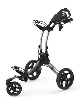 Rovic RV1S Swivel Trolley - Grijs/Zwart