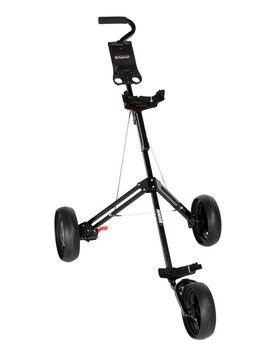 FastFold 3-Wiel Junior Trolley - Zwart