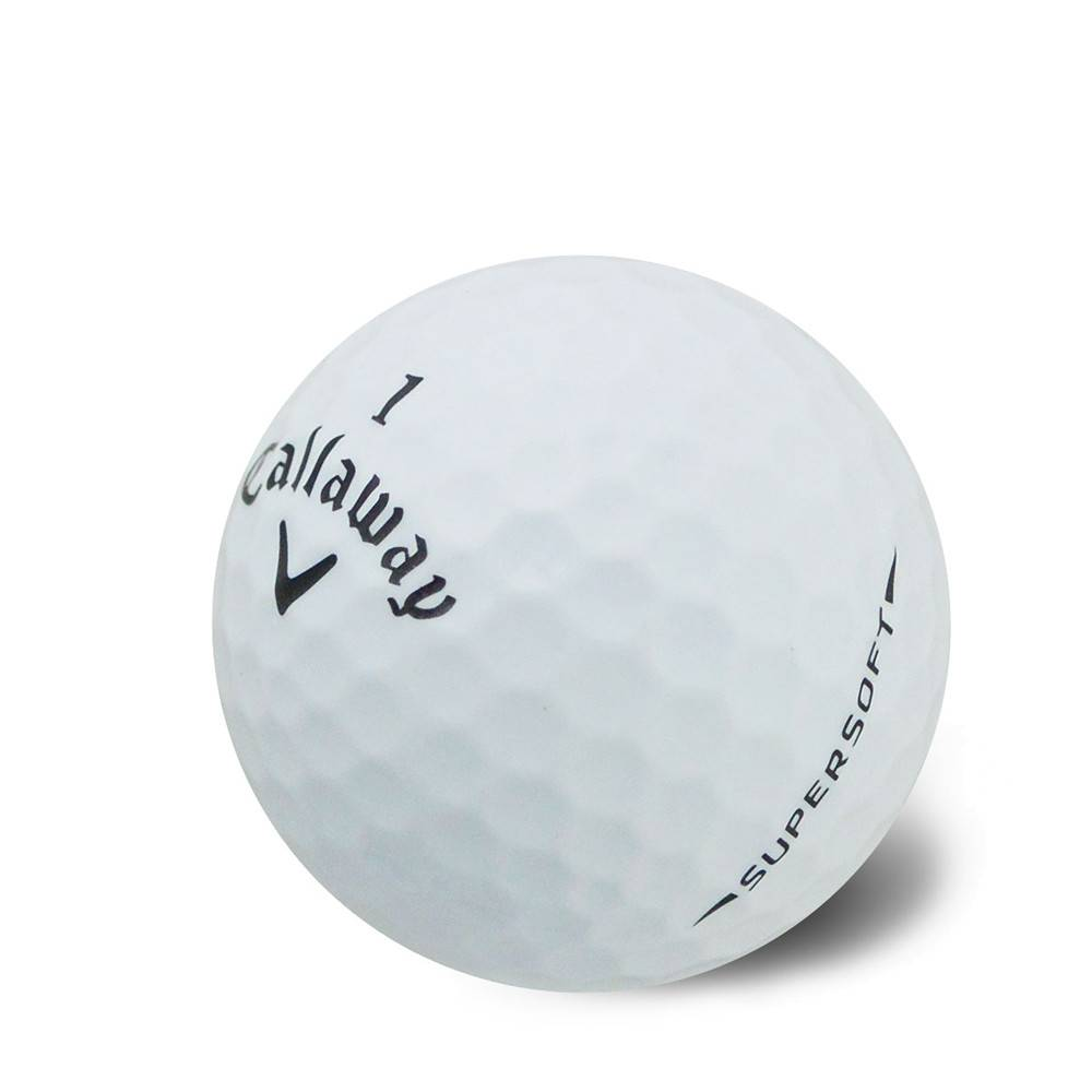 Callaway SuperSoft 12 golfballen - Wit