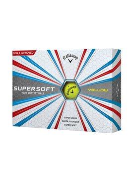 Callaway SuperSoft 12 golfballen - Geel