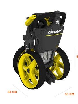 ClicGear 3.5+ 3-wiel trolley - Zwart
