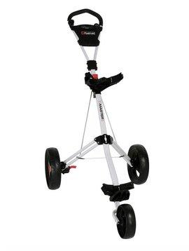 FastFold Tri-Master 3-wiel trolley - Wit