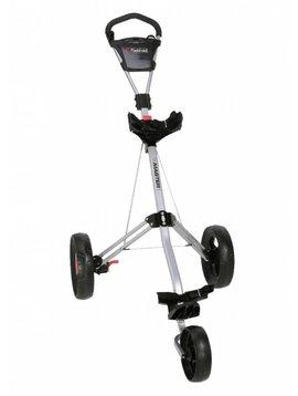 FastFold Tri-Master 3-wiel trolley - Zilver