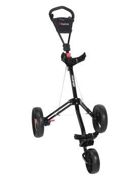 FastFold Tri-Master 3-wiel trolley - Zwart