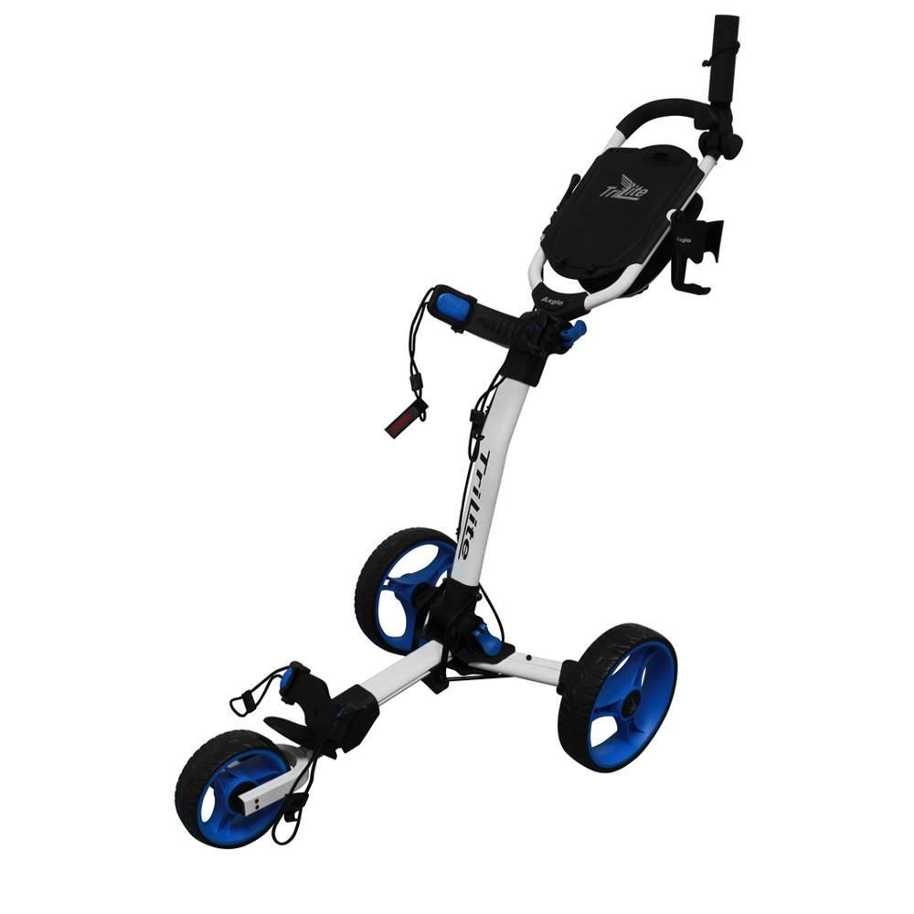 Axglo TriLite Trolley - Wit/Blauw
