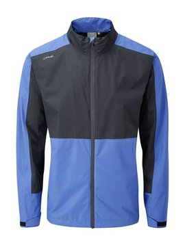 Ping Collection Anders Rain Jacket - Deep Sea Blue