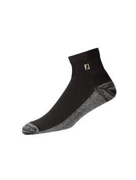 FootJoy ProDry Quarter Heren sokken - Zwart