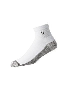 FootJoy ProDry Quarter Heren sokken - Wit
