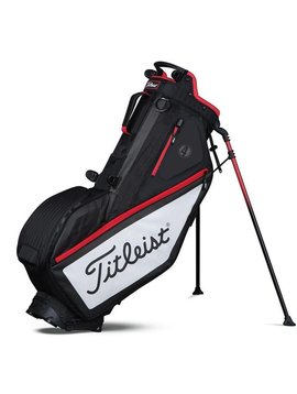 Titleist Players 4 Stand bag - Zwart/Wit/Rood