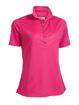 BackTee Quick Dry Performance Polo - Fuchsia