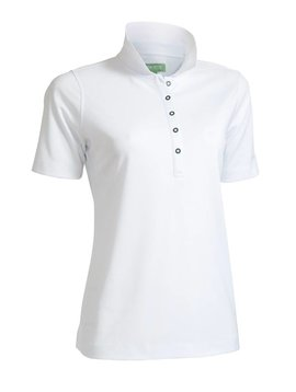 BackTee Quick Dry Performance Polo - Wit