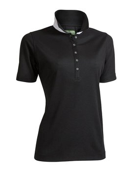 BackTee Quick Dry Performance Polo - Zwart