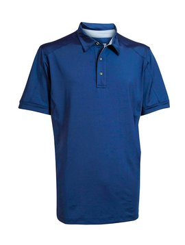 BackTee Solid UV Polo - Blauw