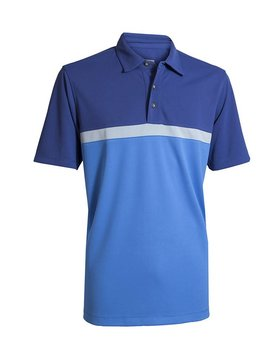 BackTee UV Sports Polo - Blauw/Grijs