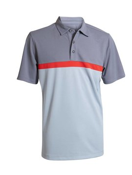 BackTee UV Sports Polo - Grijs/Rood