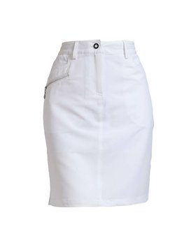 BackTee Performance Skort - Wit