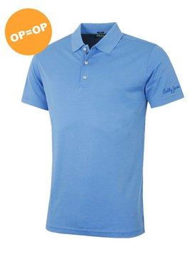 Bobby Jones Supreme Pima Cotton Shirt - Licht Blauw