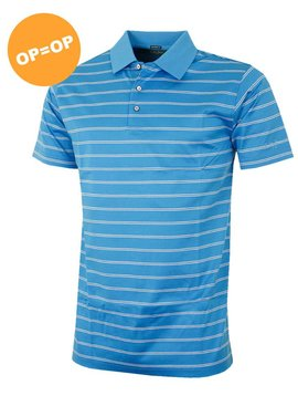 Bobby Jones Mercerised Hanson Shirt - Licht Blauw