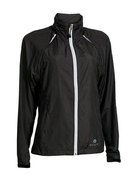 BackTee Packable Zip-off Windjacket - Zwart