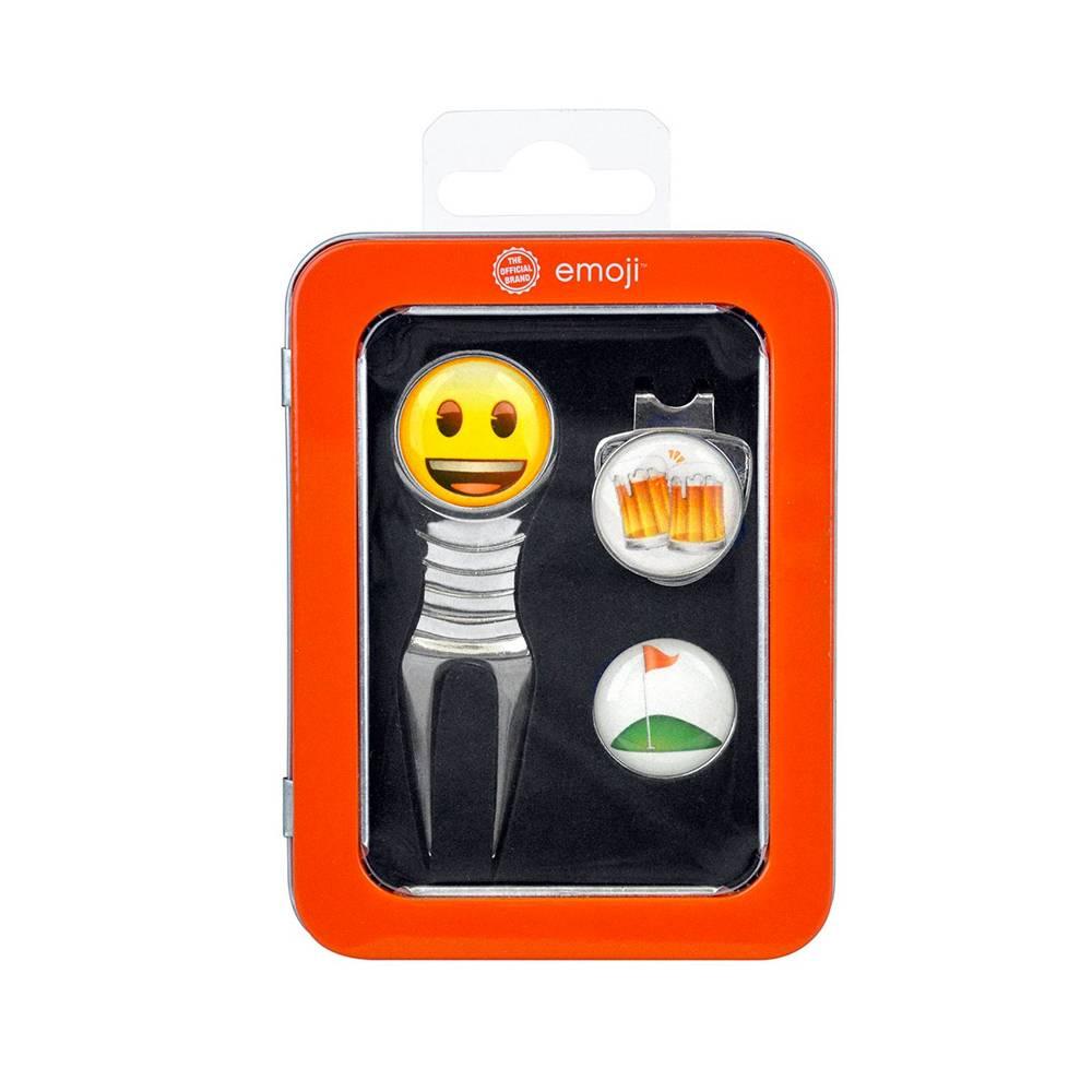 Emoji Divot Tool en marker - Beer and golf