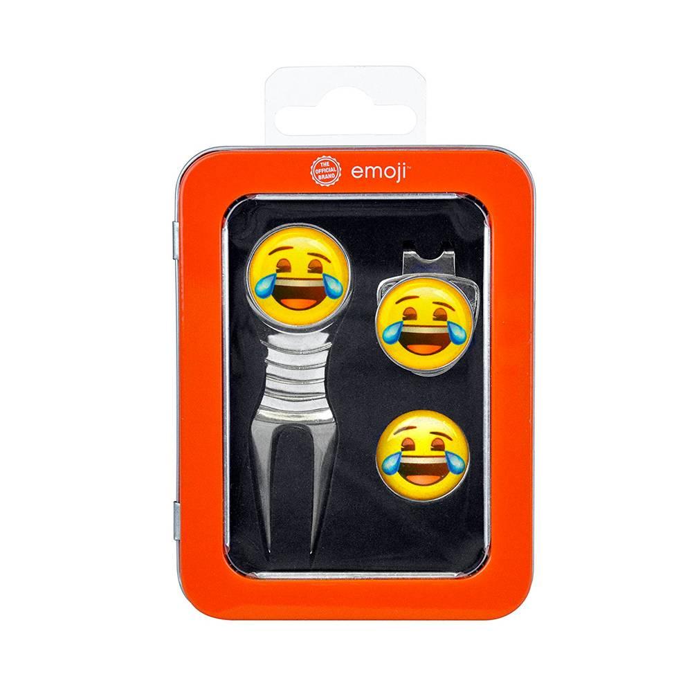 Emoji Divot Tool en marker - Laughing