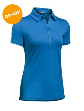 Under Armour Heat Gear Zinger SS Polo - Blauw