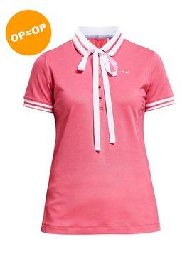 Rohnisch Pim Polo shirt - Roze