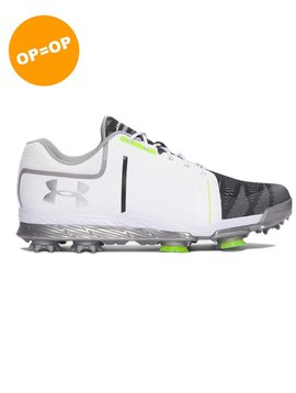 Under Armour Tempo Sport - Wit/Staal