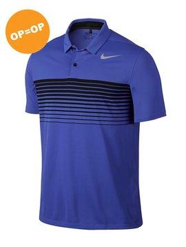 Nike Heren Mobility Speed Stripe Polo - Blauw