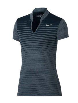 Nike ZNL CL Polo - Navy/Silver