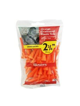 Masters Oranje step tees 2,75 inch - 20 stuks