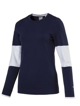 Puma Dames Evoknit Sweater - Peacoat