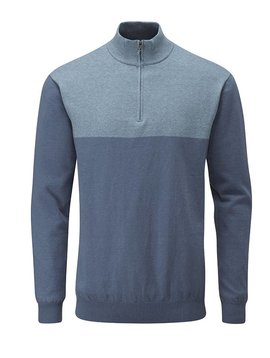 Ping Collection Knight Lined Sweater - Grey