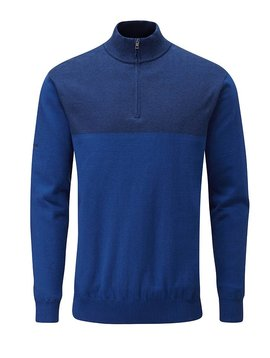 Ping Collection Knight Lined Sweater - Midnight