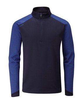 Ping Collection Austin Half Zip - Navy