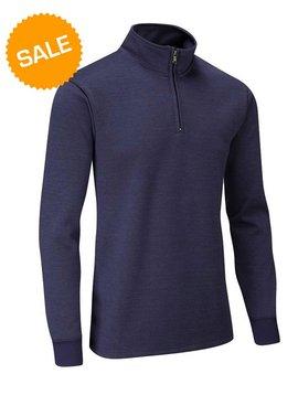 Stuburt Endurance Zip Windproof Sweater - Midnight blauw