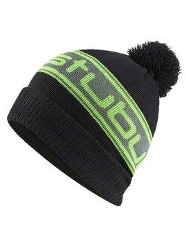 Stuburt Bobble Hat - Zwart/Groen