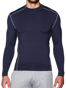 Under Armour Cold Gear Armour Mock - Blauw