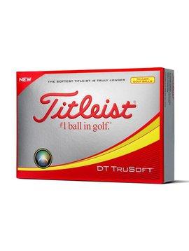 Titleist DT TruSoft - Geel