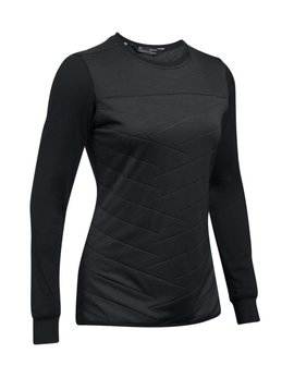 Under Armour Cold Gear Reactor shirt 1/2 Zip - Zwart