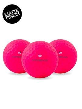 Masters Prisma Flouro 12 golfballen - Mat Roze