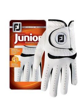 FootJoy Junior Handschoen - Wit/Zwart